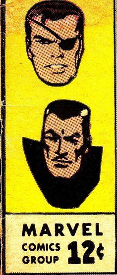 STRANGE TALES Corner Box c. 1965