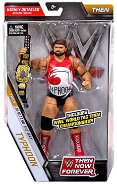 WWE, Elite Collection, Then Now Forever Typhoon (The Natural Disasters) Exclusive Action Figure, 7 Inches Wwf Superstars, Wrestling Superstars, Wrestling Wwe, Figuras Wwe, Eddie Guerrero, Wwe Toys, Wwe Action Figures, Wwe Elite, Wwe World