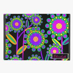 It's cool! This Abstract Floral Pattern Monogram - Multi iPad Mini Cases is completely customizable and ready to be personalized or purchased as is. Click and check it out!