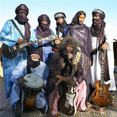 Farsighted Fly Girl: Blues From The Blue Men, Tinariwen