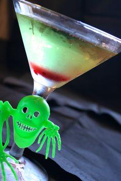 Slime-Tini for Halloween