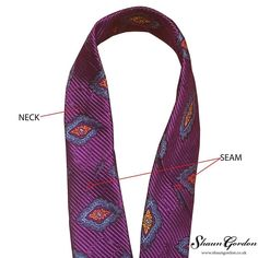 The tie itself is made from three pieces and the term Neck' is referring to the mid-section of the tie where it has two seams that are holding the front blade and tail together. Some people use the seams to judge their ties length after they have applied their desired knot. However the seam is never exposed when knotted. Read the rest on ift.tt/2jwLJf4 and find out what goes into making luxury handmade ties. #shaungordon #blog #limitededition #luxury #shaungordonties #shaungordontiemak...