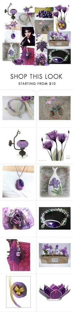 """Beautiful Etsy"" by anna-recycle ❤ liked on Polyvore featuring Cultural Intrigue, modern, rustic and vintage"