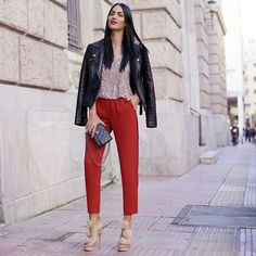 Konstantina Tzagaraki - Jacket, Pants, Chanel Purse - The best way out is always through..