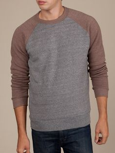 $48 Men's Sweaters & Vests | Color-Blocked Champ | Alternative Apparel