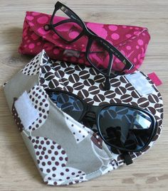Glasses case - Tutorial by Thread Riding Hood - Two other versions