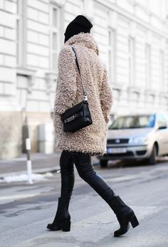 @lauradittrich   The Teddy Coat