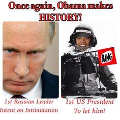 Putin Taking Advantage...as the world sits back and watch!