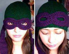 Ninja turtle hat...must have.