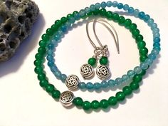 For St.Patrick's Day & beyond. Available individually or as a set. Handmade. https://img1.etsystatic.com/154/0/8965783/il_fullxfull.1165292027_2v2g.jpg #etsymntt #irish #jewelry #minimalist