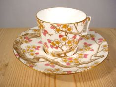 William Brownfield 1871 91 Porcelain Cup Saucer
