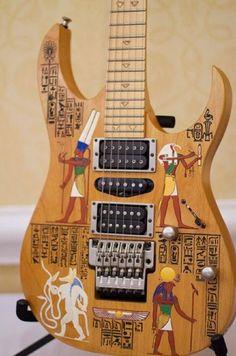 Ibanez J Custom Egypt.... 1 of 1 ?? super rare, and super cool.