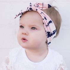 Bosue Bowknot Baby Headband,Headwear Cute Soft Elastic Hair Band For Newborn Childrens Gift Baby Girls Christening Hairband Photography Accessories Toddler Headdress