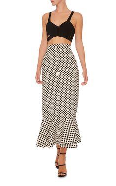 Portia High Waisted Midi Skirt by Saloni Midi Skirt, Two Piece Skirt Set, Couture, My Style, Pretty, Shopping, Clothes, Vintage, Fashion Ideas