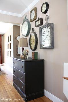 Clock Gallery Wall
