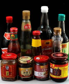 ~Chinese Sauces~ An introduction page about the commonly used Chinese sauces in Chinese recipes.