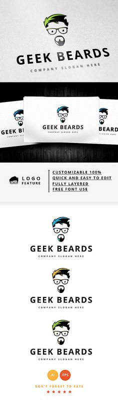 Geek Beards Logo