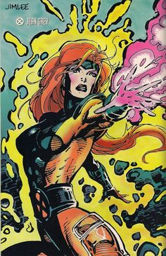 Jean Grey - Jim Lee