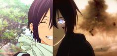 Yato's 2 sides noragami