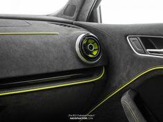 "Audi RS3 Sportback - ""The RS3 Clubsport Project"" - NEIDFAKTOR Car Interior Upholstery, Bmw Interior, Automotive Upholstery, Custom Car Interior, Car Interior Design, Audi Sportback, Audi Rs3, Volkswagen Jetta, Nissan Xtrail"