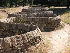 Andy Goldsworthy on Stanford campus