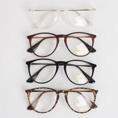 0ffff968731 NEW Men Women Unisex Nerd Geek Clear Lens Eyewear Retro Wayfarer Glasses