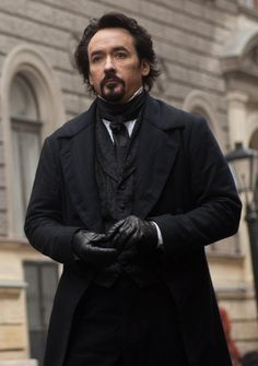 John Cusack as Edgar Allan Poe in 'The Raven'. Loved Cusack as Poe and the background, and characters, but I was not impressed with the ending to this movie