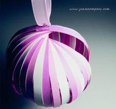 Farolillos de papel - Paper lanterns DIY