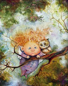 Лесные ангелы...Триптих... Люся Чувиляева. Обсуждение на LiveInternet - Российский Сервис Онлайн-Дневников