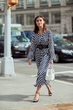 10 модных платьев-рубашек для повседневных образов   Журнал Harper's Bazaar