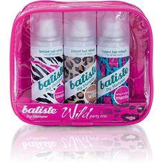 BatisteBatiste Dry Shampoo Wild Trio Pack