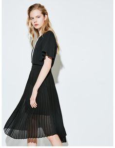 new in 2017 fashion clothing autumn collection outfit trend dress Fashion 2017, Fashion Outfits, Trend Dress, Chiffon Dress, Tulle, Ballet Skirt, Autumn, Clothes For Women, Trending Outfits