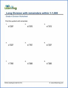 long division no remainder worksheet 1 aj pinterest activities 1 and math. Black Bedroom Furniture Sets. Home Design Ideas