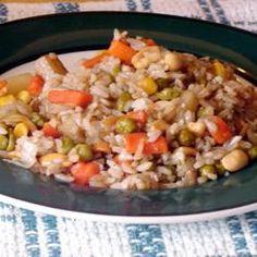 Veggie Fried Rice @ http://allrecipes.co.uk