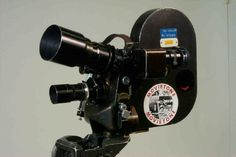 A Cameflex Standard CM3 35mm film camera, manufactured in France by Éclair in 1946. This camera was used by Movietone News who provided newsreels for British cinemas between 1929 and 1979. Known as the Camarette in the United States, the CM3 was light, making it useful for handheld shots in confined spaces. The cinematographer Raoul Coutard shot Jean-Luc Godard's 1960 film 'Breathless' using an Éclair CM3, but the camera was so noisy that most of the dialogue needed to be re-recorded.