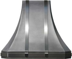 zinc range hoods custom made as wall mount and kitchen island with hammered metal surface zinc range hoods pinterest hoods - Stove Hoods