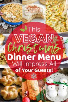 This Vegan Christmas Dinner Menu Will Impress All of Your Guests! Your search is over, every recipe that you need to make the BEST vegan Christmas dinner is on this list! Trust me, these vegan Christmas recipes will impress all… Continue Reading → Vegan Christmas Dinner, Christmas Parties, Christmas Dinners, Christmas Christmas, Christmas Treats, Christmas Cooking, Holiday Dinner, Best Christmas Dinner Recipes, Vegan Thanksgiving Dinner