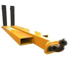 Forklift towing hitch allows trailers etc to be towed with your forklift