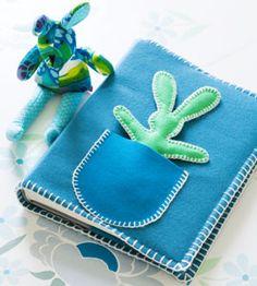 Make a soft cover for a baby photo album