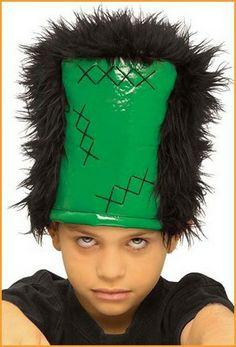 Frankenstein, Kids Wigs, Halloween Wigs, Monster, Winter Hats, Hair, Fashion, Moda, Fashion Styles