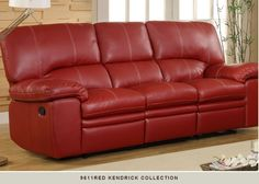 Sofa Table Contour Rosso Red Reclining Seater Leather Sofa Set leather recliners Pinterest Leather sofa set Leather sofas and Sofa set