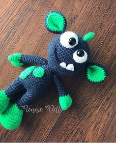 Ravelry: AndreaDanielle's Mel the Monster and Friends