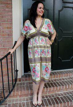 Simple to make, dress. Tutorial