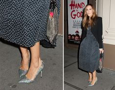 Sarah Jessica Parker is the Rare Celeb Who Walks the Walk When It Comes to Wearing Her Own Shoe Line