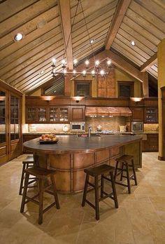 Beautiful cabin feel