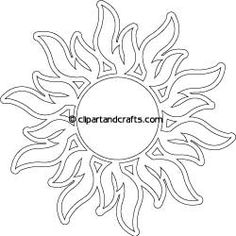 sun flames tattoo coloring page (Some damn body stole this off my leg! Well, mine looks neater and it has a heart instead of the circle and a banner with my darling husband's name. Sun Coloring Pages, Coloring Pages For Grown Ups, Coloring Books, Sun Drawing, Flame Tattoos, Flame Design, Sun Designs, Sun Art, Stained Glass Projects