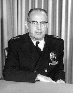 Los Angeles Police Chief from 1927 to 1966. William H. Parker.