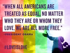 In celebration of National Coming Out Day-- and the millions of stories that brought us to where we are today.