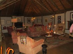Glamping - our hotel on safari