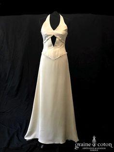 de matrimonia en ivoire et rose  Dépôt-vente location de robes de ...